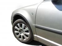Накладки с нержавейки на колесные арки (4шт.) - Skoda SUPERB (2001-2009)
