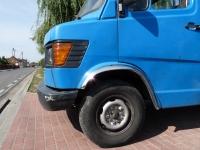 Накладки с нержавейки на колесные арки (4шт.) -  Mercedes 208/210/307/310 (1988 - 1996)