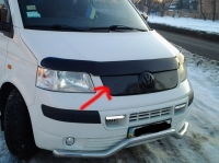 Зимняя накладка на решетку - Volkswagen T5 Transporter (2003+)