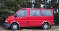 Накладки с нержавейки на колесные арки (4шт.) - Ford TRANSIT (1986-1994)