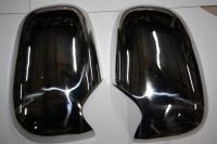 Накладки на зеркала (2 шт, нерж.) - Ford Transit (1994-2001)