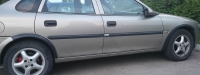Накладки колесных арок (4шт.пластик) - Opel VECTRA B (1995+)