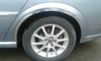 Накладки с нержавейки на колесные арки (к-т.) - Opel VECTRA C (2004+)