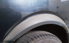 Накладки на арки (2 шт, задние) - Mercedes Vito W639 (2004-2015)