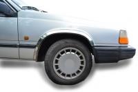 Накладки с нержавейки на колесные арки (4шт.) - Volvo 940