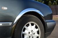 Накладки с нержавейки на колесные арки (4шт.) - Mercedes E-KLASS W210