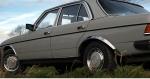 Накладки с нержавейки на колесные арки (4шт.) - MERCEDES W123