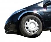 Накладки с нержавейки на колесные арки (4шт.) - Mercedes A-KLASS W169 (2004-2012)