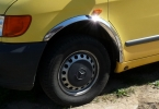 Накладки с нержавейки на колесные арки (4шт.) - Mercedes VITO W638 (1996-2003)