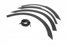 Накладки колесных арок (4шт.пластик) - Mitsubishi Outlander (2006-2012)