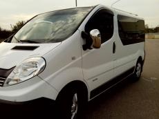 Накладки на зеркала (2 шт) - Renault Trafic (2001-2014)