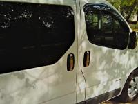 Накладки на ручки (4 шт, нерж) - Renault Trafic (2001-2014)