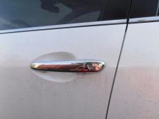 Накладки на ручки (4 шт, нерж) - Mazda 3 (2009+/2013+)