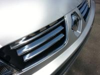 Накладки на решетку  радиатора (6 шт, нерж) - Renault Trafic (2007-2014)