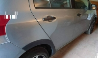 Накладки колесных арок (4шт.пластик) - Toyota YARIS (2006-2011)