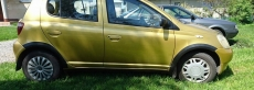 Накладки колесных арок (4шт.пластик) - Toyota YARIS (1998-2005)