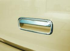 Накладка на заднюю ручку (нерж) - Volkswagen Caddy (2010+)