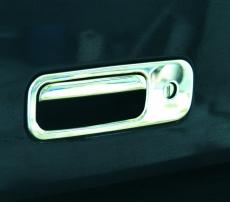 Накладка на ручку багажника (нерж) - Volkswagen Caddy (2004-2010)