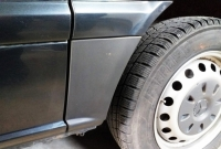 Накладки на арки (2 шт,задние нижняя часть) - Mercedes Vito W639 (2004-2015)