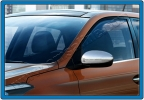 Накладки на зеркала (2 шт, нерж) - Hyundai I-20 (2014+)