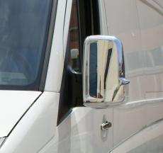 Накладки на зеркала (2 шт) - Volkswagen Crafter (2006+)